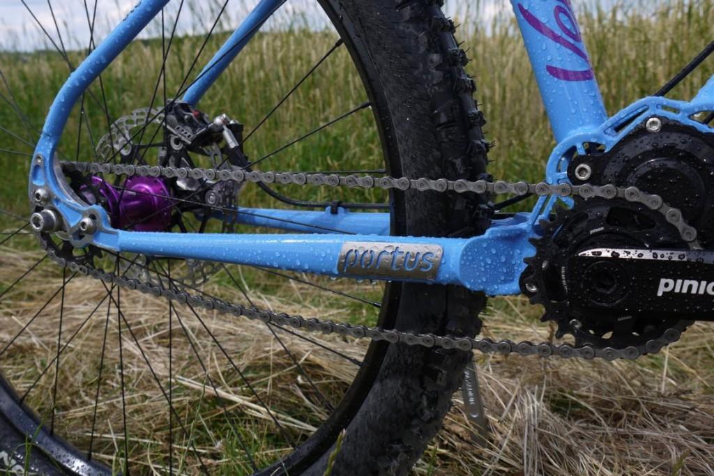 Portus Cycles - Enduro - André - Kettenstrebe