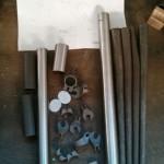 Portus Cycles - Rohre Kleinteile