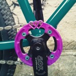Portus Cycles - Maria's Louise - 3D gedruckter Kettenblattschutz