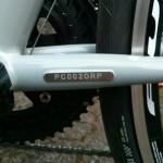 Portus Cycles - Rennrad - Ruben - Rahmennummer