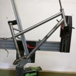 Portus Cycles pinion - Hauptrahmen in Rahmenlehre