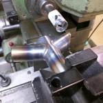 Portus Cycles pinion - Zuschnitt Gabel