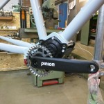 Portus Cycles pinion - Getriebe montiert